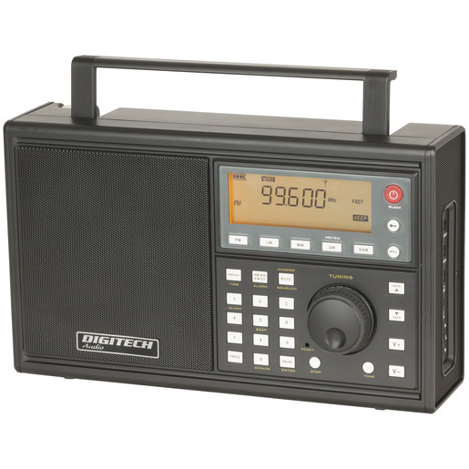 World Band Radio with AM/FM, SW & DAB+