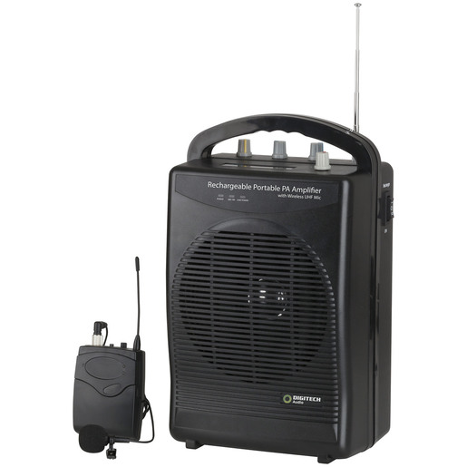 Portable Wireless PA Amplifier & Microphone