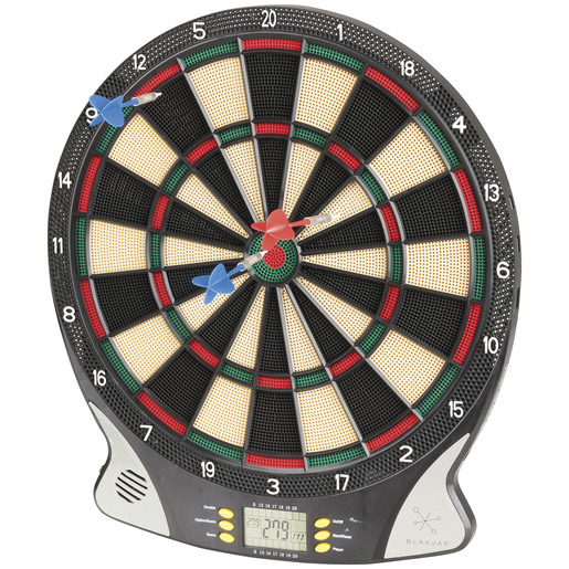 Electronic Dart Board with Darts